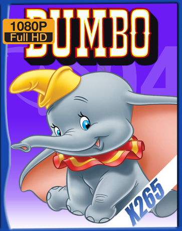 Dumbo [1941] [Latino] [1080P] [X265] [10Bits][ChrisHD]