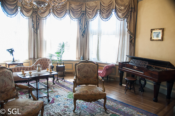 La salita de Lady Mary. Casa Loma un castillo en Toronto