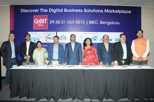 Top Industry Associations Partner with CeBIT India 2015 to further India's Digital Economy