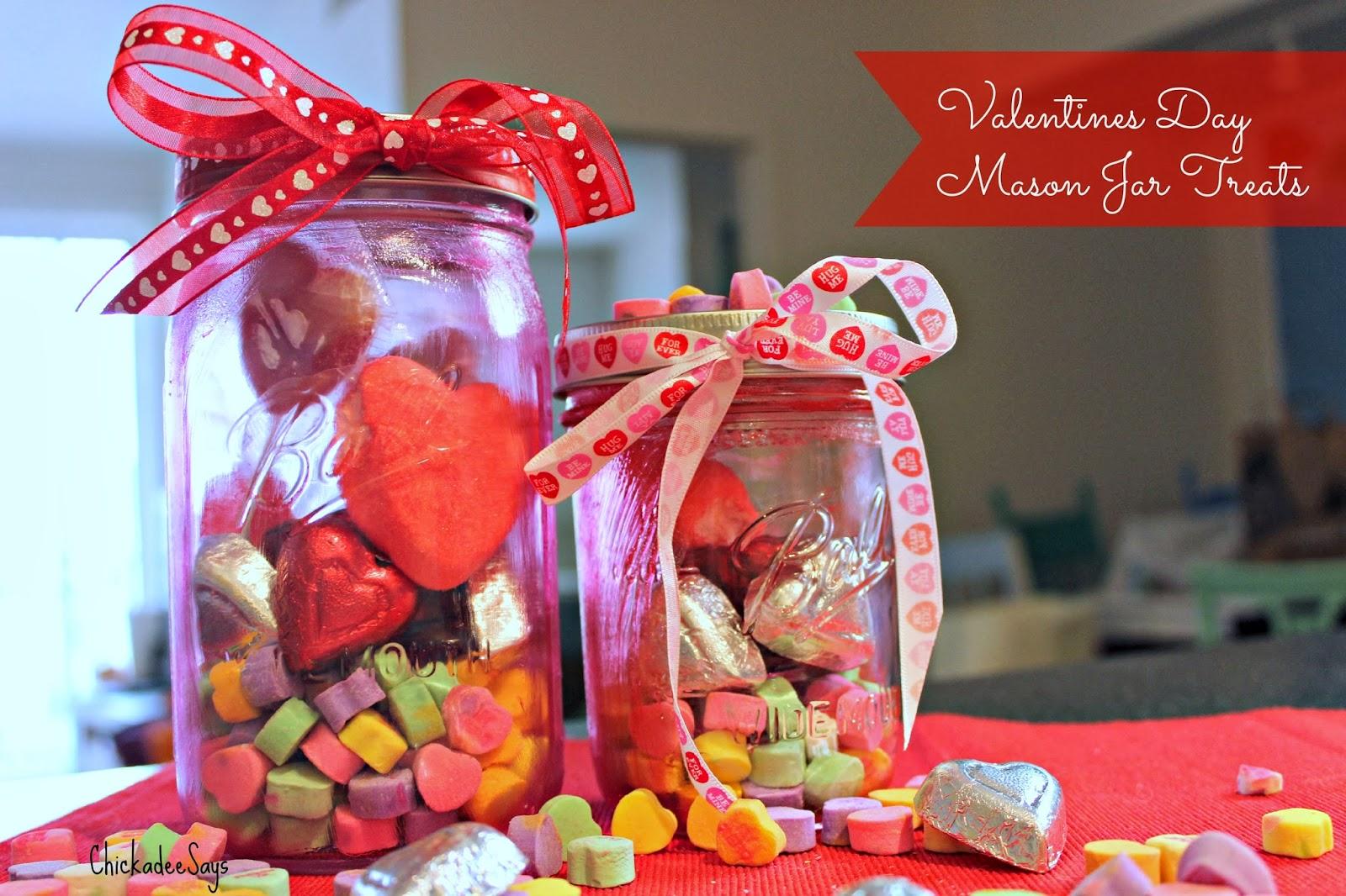 Do It Yourself: Valentine's Day Mason Jar Treats | Habits of a ...
