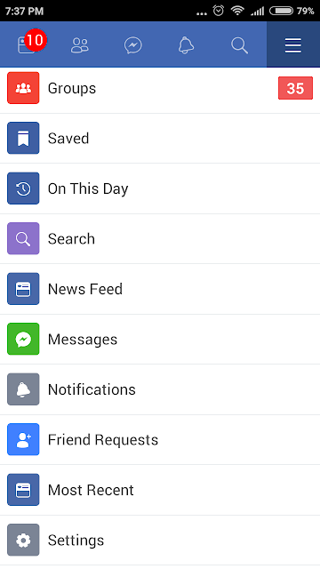 everything i need from facebook lite is available