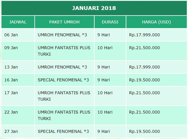 jadwal-umrah-januari-2019-arfa-tour