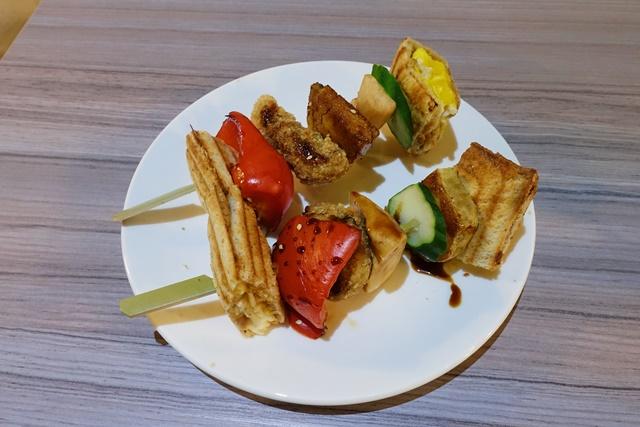 日式串燒吐司