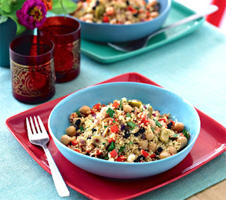 Couscous and Chickpea Salad Recipe