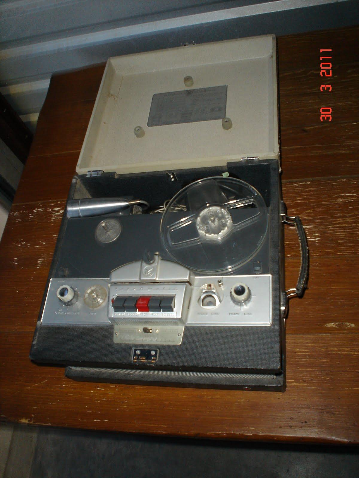 The Storage Princess Vintage Reel To Reel Tape Recorder