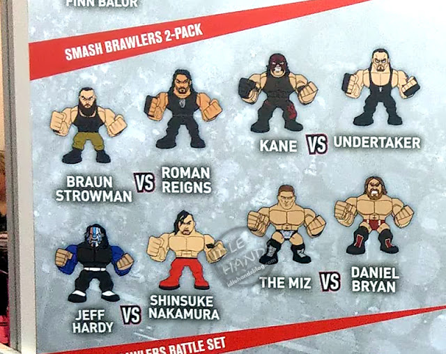 UK Toy Fair 2019 TOMY WWE Smash Brawlers 2-Packs 01