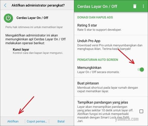Cara Mematikan dan Menyalakan Layar Secara Otomatis di Android
