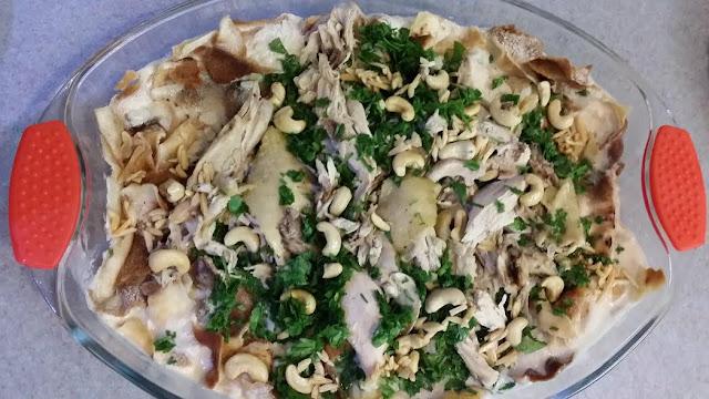 chicken fattee