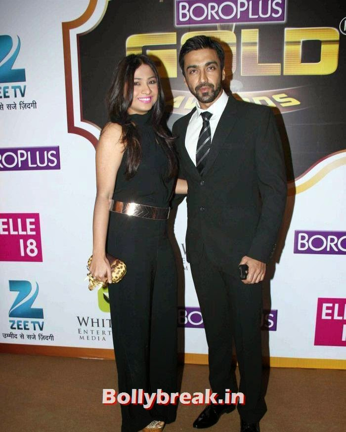 Samita, Aashish Chaudhary, Popular Tv Actresses on The Red Carpet of 7th Boroplus Gold Awards