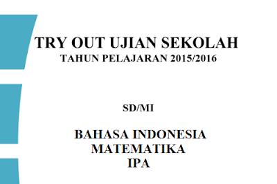 Kumpulan Soal Try Out Ujian Sekolah SD/MI 2016
