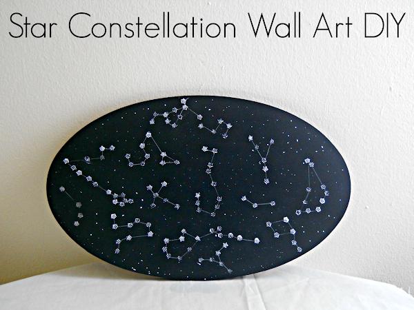 Star Constellation Wall Art DIY