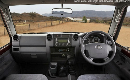 2015 Toyota Land Cruiser 70-Series Cab Chassis