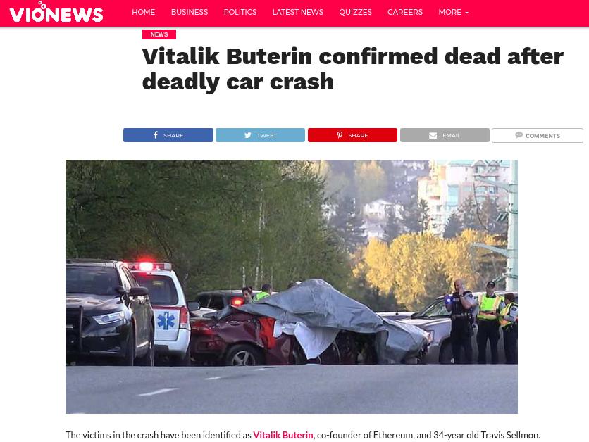 Vitalik buterin thiệt mạng