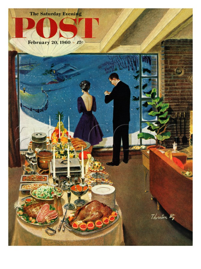 Things That Catch My Eye Saturday Evening Post Winter Covers