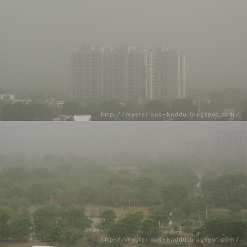 Summer Sandstorms in Jaipur