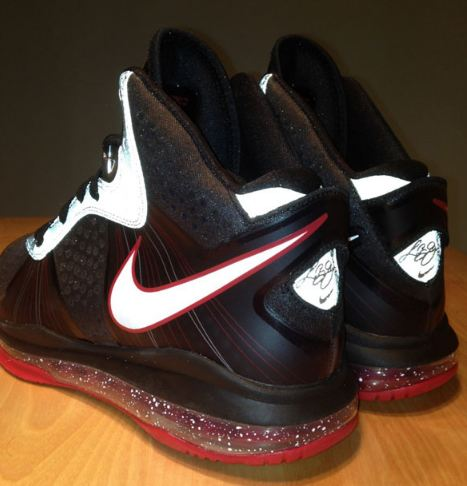"25e74960744c Here is new images via Artaphax if the unreleased Nike LeBron 8 V2 ""Portland  Game"" PE Sneaker"