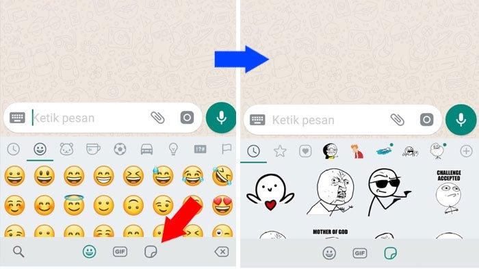 Cara Menggunakan Stiker WhatsApp, Fitur stiker WhatsApp ini hampir mirip dengan fitur stiker di aplikasi messenger lain, seperti Line, BBM, atau Kako Talk