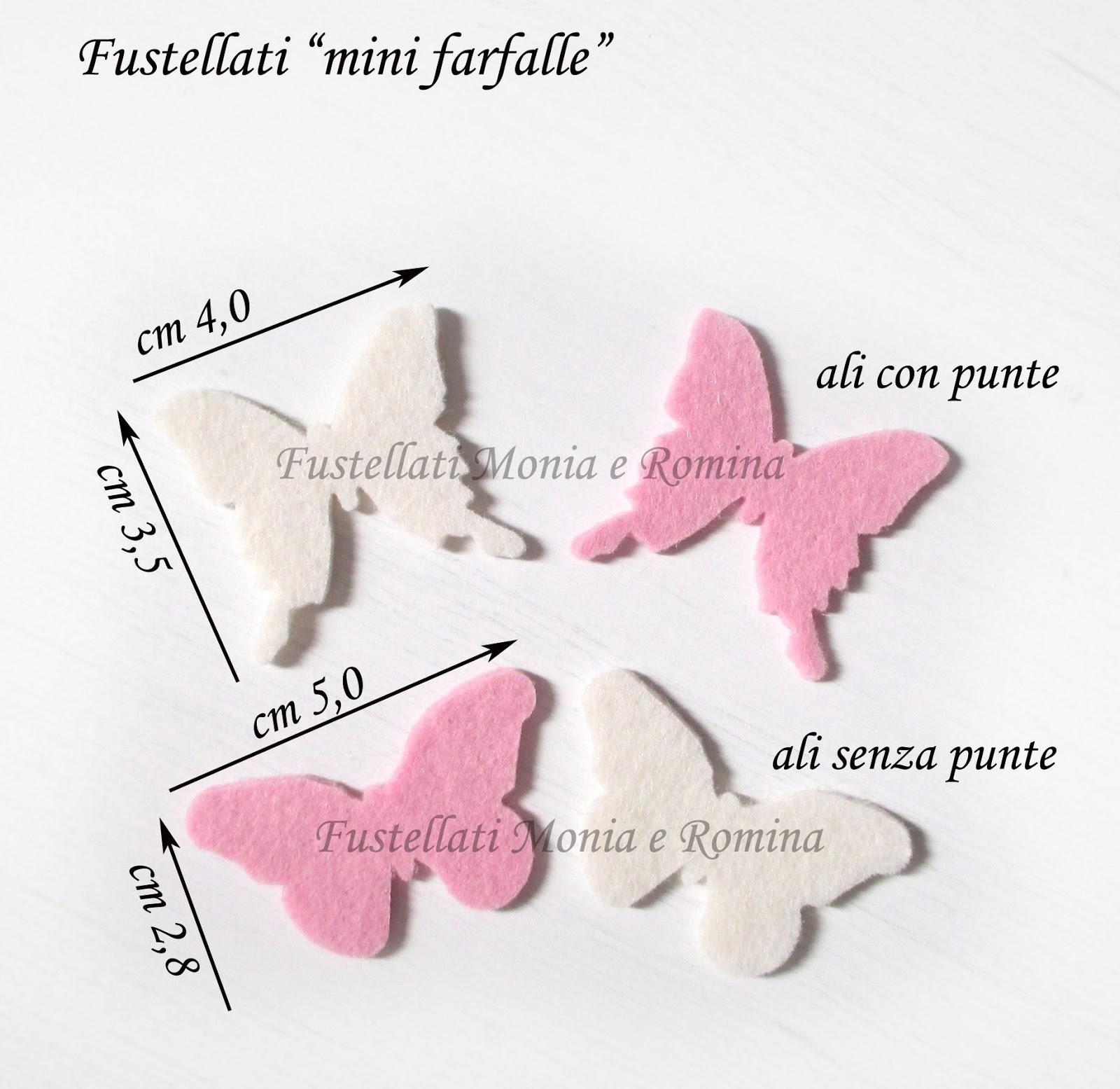 Fustellati A Forma Di Piccole Farfalline Fustellati Monia E Romina