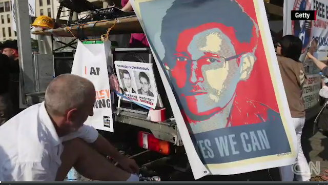 Edward Snowden is a saint, not a sinner