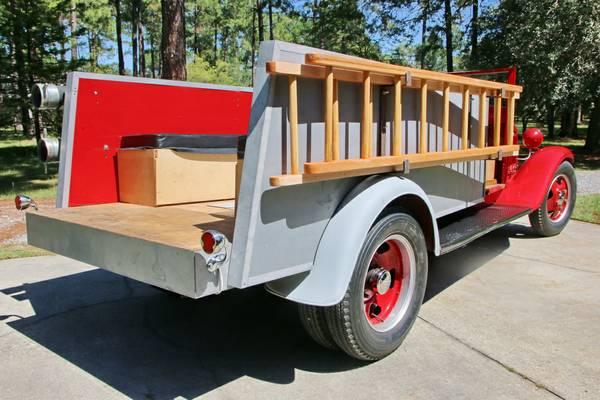 1949 Dodge Truck >> 1934 Ford Dual Rear Wheel Fire Truck - Old Truck