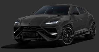 2019 Lamborghini Urus Black color