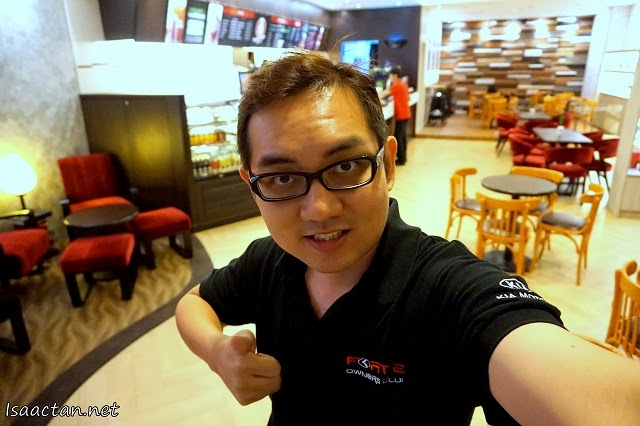Well, here's a thumbs up for Pacific Coffee Sunway Pyramid.
