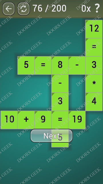 Math Games [Beginner] Level 76 answers, cheats, solution, walkthrough for android