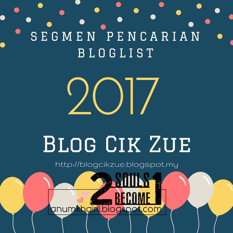 Segmen Pencarian Bloglist 2017 Blog Cik Zue