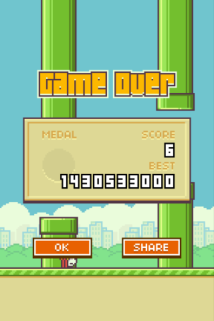 Flappy Bird Highscore Hack