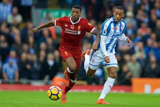 Huddersfield vs Liverpool, Premier League