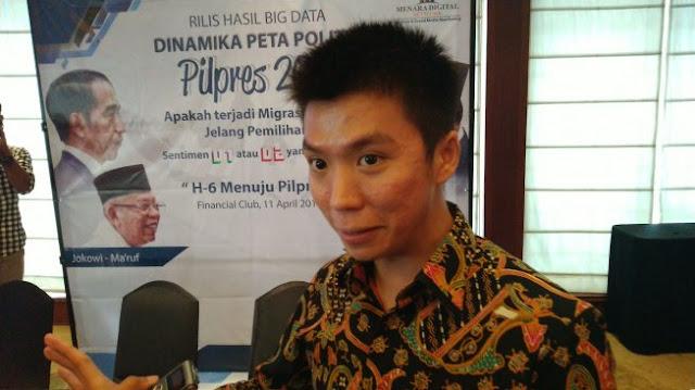 Prediksi Menara Digital: Prabowo - Sandiaga Unggul 11 Persen