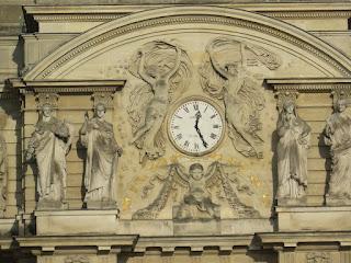 השעון על ארמון לוכסמבורג