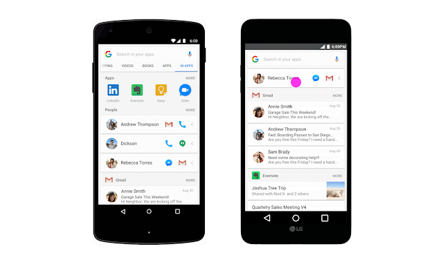 Google's New In Apps Search feature Lets You Find Content Inside Apps on Android