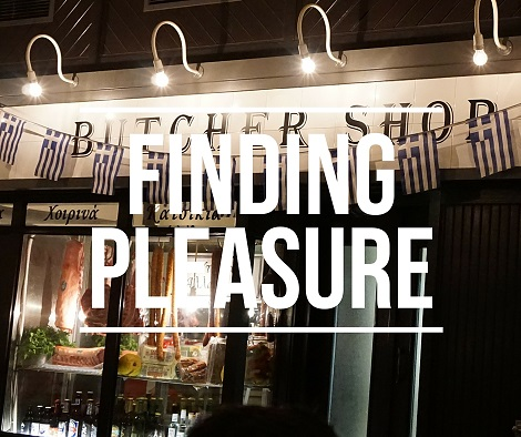 Finding pleasure at the Butcher shop