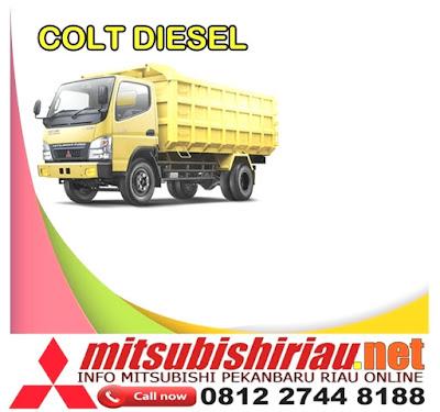 Simulasi Paket Kredit Murah Mitsubishi Colt Diesel Pekanbaru Riau Terbaru