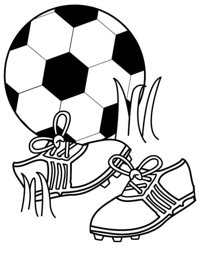 Desenhos Para Colorir De Futebol