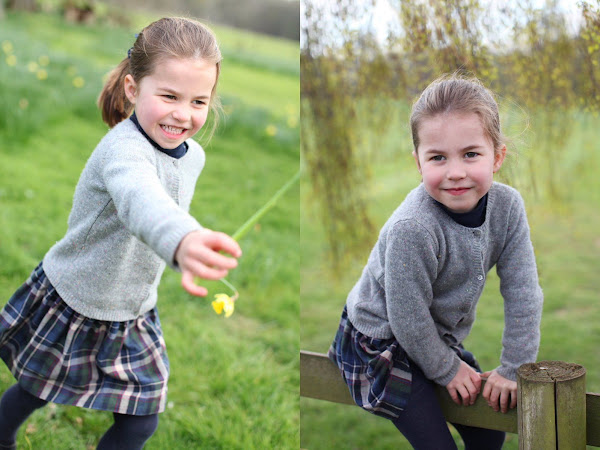 Urodzinowe zdjęcia księżniczki Charlotte!