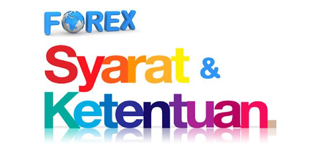 persyaratan trading forex