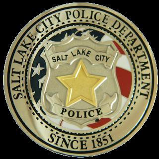Point Emblems Salt Lake City Police Department