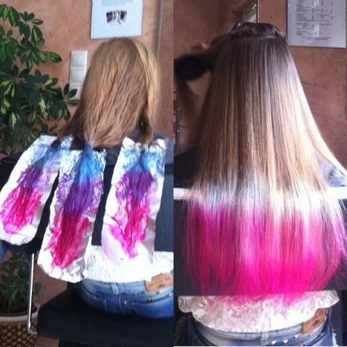 Multi Colored Ombre Hair | www.pixshark.com - Images ...