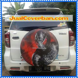 #Cover Ban Terios Rush Spiderman