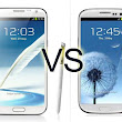 Samsung Galaxy S4 vs Samsung Galaxy Note 2 in Android 4.3 Version  ~ MOBILE-APPS