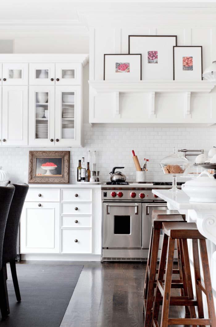 beyaz mutfak tasarımı