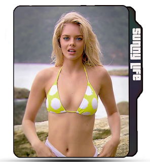 Samara Weaving, celebrity icon, actress icon, hot Samara Weaving bikini pose, bikini girl folder icon, blonde girl icon, Samara Weaving folder icon.
