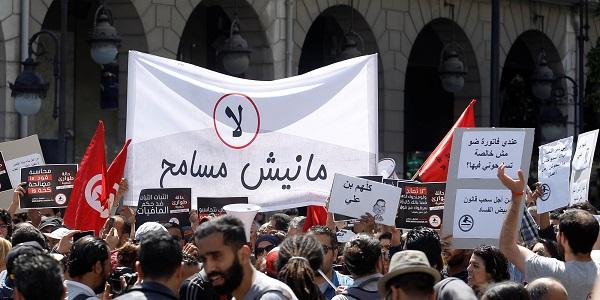 مظاهرات فى تونس لمحاربة فساد النظام السابق