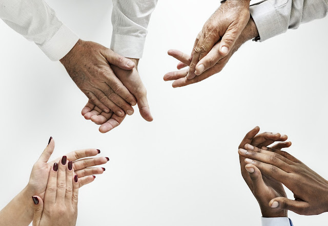 agradecer colaborar tendedero social tejeredes