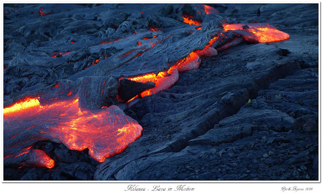 Kilauea: Lava in Motion