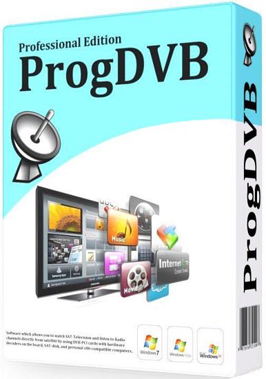 برنامج تشغيل القنوات التليفزيونيه المشفره ProgDVB Professional Edition 7.13.0