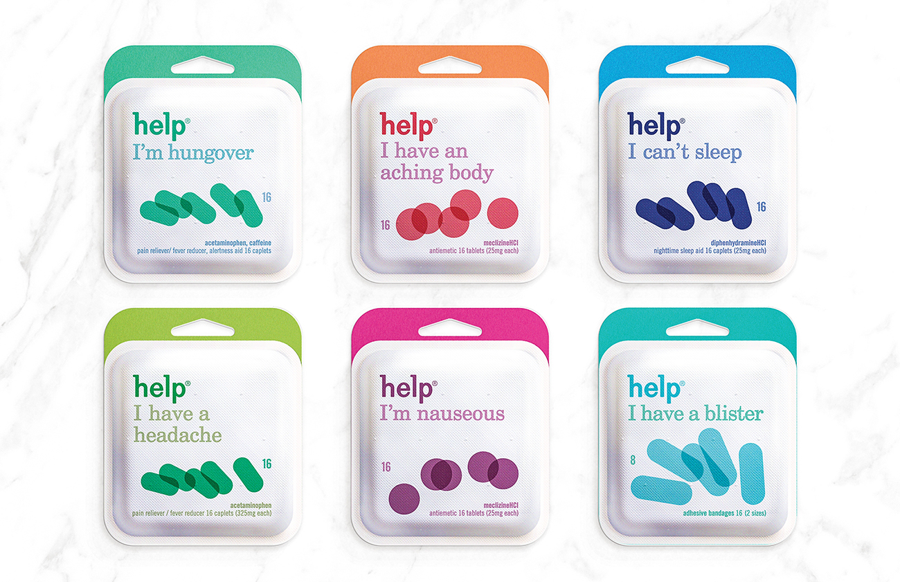 help remedies paper pack on packaging of the world creative and feature the friendly graphic imagery we had been using regularly help was soon after so these sadly never went into large scale production