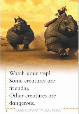 sample page from The Clone Wars: DON'T WAKE THE ZILLO BEAST!  (DK Readers)